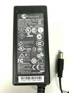 Polycom sps-12a-015 P/N 1465-42340-002 Adapter  24v 500ma