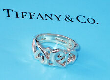 Tiffany & Co Paloma Picasso Sterling Silver Loving Heart Band Ring