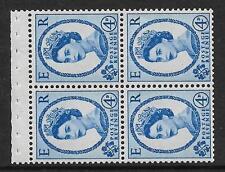 SB110 Wilding folleto panel error tipográfico Violeta corona izquierda Perf AP desmontado MNT