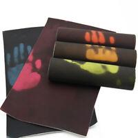A4 Heat Reactive Faux Leather Sheet  Vinyl Leatherette DIY HandmadeBowsCraft