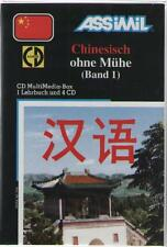Box : 1 Lehrbuch + 4CD : ASSIMIL Chinesisch Ohne Mühe Band 1 CHINOIS ALLEMAND