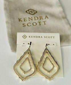 Kendra Scott Earrings Gold Tone Free Shipping