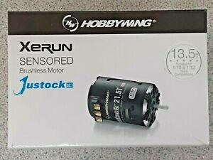 Hobbywing XERUN Justock 3650 SD G2.1 Sensored Brushless Motor 13.5T 30408010 New