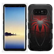 for Samsung Galaxy Note 8 Rugged Hard+Rubber Hybrid Case Spiderman Spi