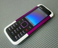 Nokia 5000-Lila & Weiß - 02 Netzwerk-Tesco-Giff Haken