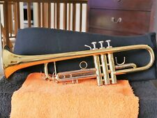 BLESSING 1580 BFLAT TRUMPET, ML, BACH 25 LR, BENGE 5 BELL, LAQUERED, OUTSTANDING