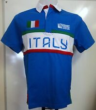 ITALY RWC 2015 S/S RUGBY JERSEY BY CANTERBURY SIZE LARGE BRAND NEW WITH TAGS