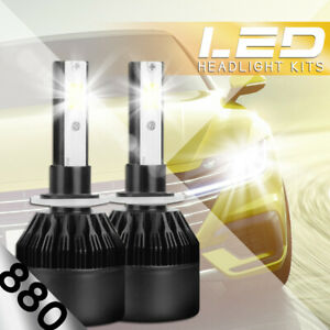 XENTEC LED HID Foglight kit 894 White for 1999-1999 Chevrolet K2500 Suburban