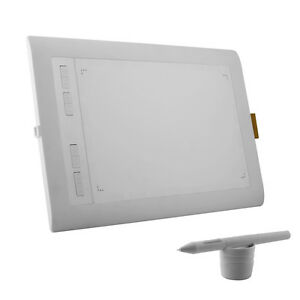 Ugee White HK1060 10*6 Inch Big Active Graphic Tablet Digital Drawing Tablet