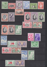 Tonga 1942/50's Collection Mint Mounted to 5/-