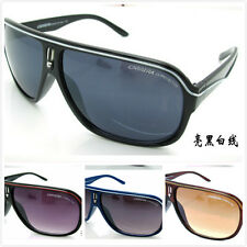 Fashion Men & Women's Retro Sunglasses Unisex Matte Frame Carrera Glasses + Box