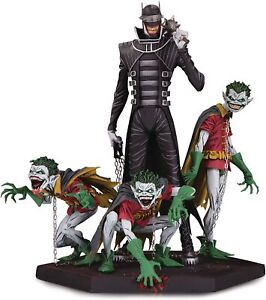 DC Comics Metal Batman Who Laughs and Robin Minions Deluxe Statue
