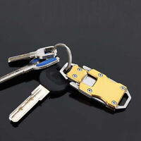 Stainless Steel Outdoor Mini Folding Knife Pocket EDC Key Chain Survival Tools