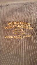 HARLEY DAVIDSON Motorcycles Cocoa Beach, Florida T-Shirt size XL