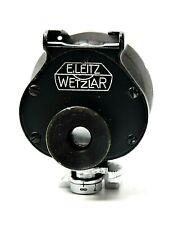 E. Leitz Wetzlar Rangefinder Universal Hot Shoe View Finder Black Chrome