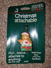 Christmas Attachable - Care Bear Tenderheart Keychain Zipper Pull Charm Holiday