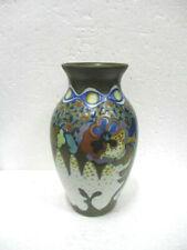 Ancien vase en céramique Art déco Gouda made in holland