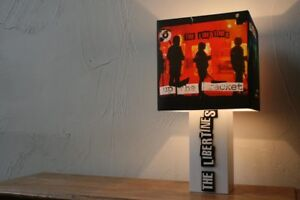 Handmade 'The Libertines' Lamp + Album Cover Lampshade - Pete doherty, Up the Br