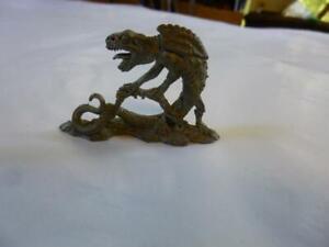 Grenadier Metal Miniature D&D 502 Fantasy Lords Marsh Dragon 1985 no paint