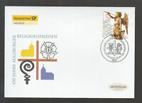 Germany 2005 - 450 years of Augsburg religious peace on beautiful FDC