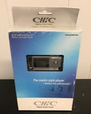 Chic Digital Audio Player Symphony MP3 Player/Voice Recording/FM Radio 512 MB