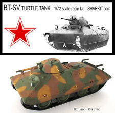 Soviet BT-SV Turtle Tank 1/72 scale - resin -