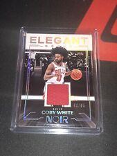 2019 Noir Basketball Coby White Elegant Decor Patch 43/65