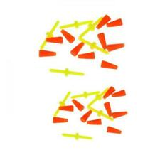 10 Pcs Rot Knoten Bobber Stöpsel Angelgerät Werkzeug für Köder