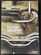 Very Rare Boneshaker Magazine Issue 1