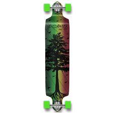 Yocaher Complete In The Pines Series Drop Down Longboard Rasta