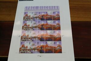 USPS space discover postage full pane, 32 cents stamps MNH
