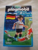 Brand New Playmobil 6893 Sports and Action Germany football player