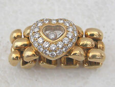 CHOPARD -18 K YELLOW GOLD HAPPY DIAMOND RING - SIZE 6 1/2 AMERICAN