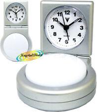 PSV Beep Alarm Clock SILVER White Push Light Function