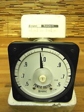 New listing Crompton 077-42 7A-Qtad 480V .5-0-.5 scale Power factor gauge