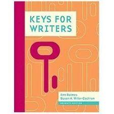 Keys for Writers by Raimes, Ann, Miller-Cochran, Susan K.