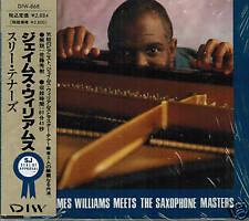 JAMES WILLIAMS Saxophone Masters JOE HENDERSON Jpn CD