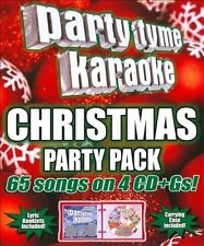 Party Tyme Karaoke - Christmas Party Pack (65-Song Party Pack) [4 CD] by