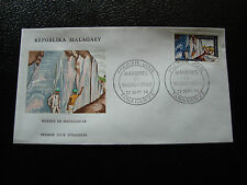 MADAGASCAR - enveloppe 27/9/74 - marbre de madagascar - yt n° 544 -(cy9)