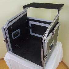 ROADINGER Laptop Kombicase 8/10 HE mit Notebook-Ablage Winkelrack L-Rack DJ-Rack