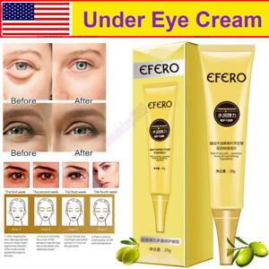 Under Eye Cream Remove Dark Circles Wrinkles Puffy Eyes Instant Firming Skin US