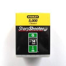 STANLEY Tackerklammern Typ G 11 (5000 Stück) 14mm TRA709-5T
