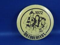OKTOBERFEST KITCHENER WATERLOO 1972  BUTTON MASCOT SOUVENIR COLLECTOR PIN BACK