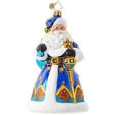 """Radko Mixed Bag 6"""" 1018972 Santa With Star Of David Ornament NWT"""