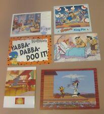 Hanna-Barbera Animation Artist Promo Cards - Flintstones and Friends, Lot 6