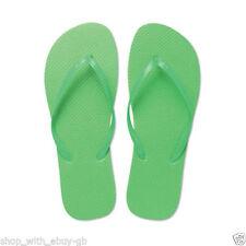 Sandalias y chanclas de mujer en verde, talla 39