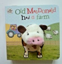 Little Learners Old MacDonald had a Farm Finger Puppet Book, Pour Enfants Âge 2+ an