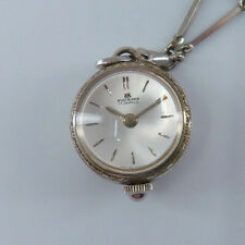 "VINTAGE BUCHERER ""BALL"" LADIES PENDANT WATCH w/ CHAIN"