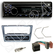 Mueta A4 USB SD Radio Set Opel Astra G Agila Blende anthrazit ISO Adapter