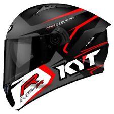 Casco integrale moto KYT NFR Track matt grey helmet Taglia Size L